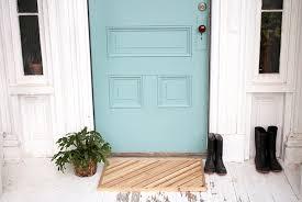 diy wood doormat themerrythought