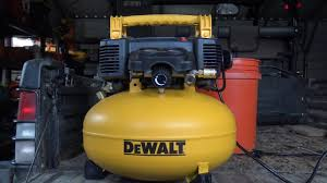 hitachi pancake air compressor. a farmer\u0027s unboxing and quick review of the dewalt pancake air compressor : dwfp55126 hitachi