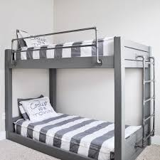 Bunk bed with stairs plans Double Decker Bed An Industrial Style Diy Bunk Bed The Spruce Crafts 11 Free Diy Bunk Bed Plans You Can Build This Weekend