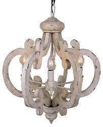 crown wood pendant distressed antique white farmhouse pendant lighting
