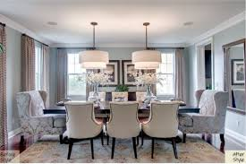 image of wing chair at dining table