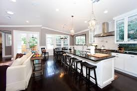 Kitchen And Living Room Designs For Fine Kitchen And Living Room Designs  Home Interior Innovative Great Ideas
