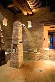 stone shower bench stacked stone shower stone shower stone bathroom design with open shower natural stone