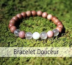 Sweetness bracelet for <b>women</b>, wooden beads and <b>natural</b> ...