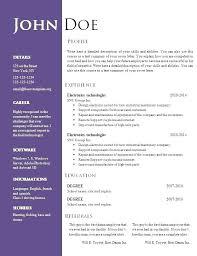 Free Modern Resume Templates Google Docs Modern Resume Template Doc Gastro Design