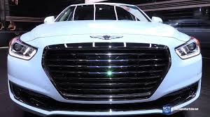 2018 hyundai genesis sedan. fine 2018 2018 genesis g90 v8 50l luxury  exterior walkaround 2016 la auto show  youtube on hyundai genesis sedan