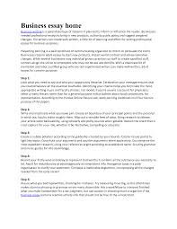 professional essay format