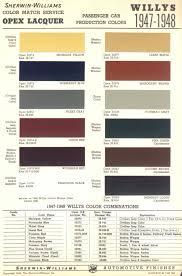 Beyond Paint Color Chart The Cj2a Page Paint Chips