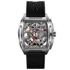 <b>CIGA Design Men</b> Square Dial Watch Black <b>Mechanical</b> Watches ...