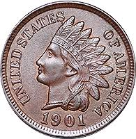 1901 Indian Head Penny Value Cointrackers