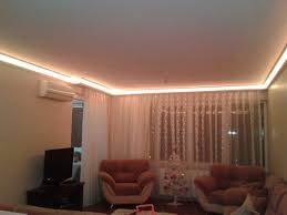 indirect ceiling lighting. Bahcesehir Ceiling Lighting - Brown Led Indirect R