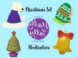 Christmas Vector Bundle Set For Kids 17 Graphic By Vijackstudio Creative Fabrica