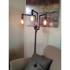 modern industrial floor lamp  peared creation  touch of modern