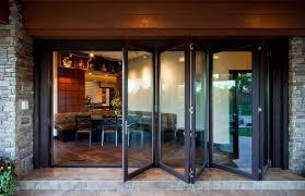 foldable glass door folding doors exterior peytonmeyer admirable folding doors exterior foldable door design diffe types