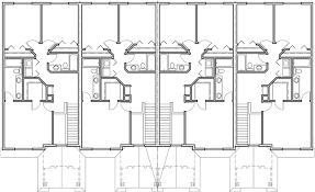 3 bedroom townhouse. upper floor plan 2 for fourplex house plans, story townhouse, 3 bedroom townhouse