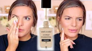 wet n wild photo focus foundation review wear test casey holmes you