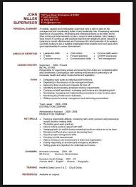 Skills Section Of Resume For Teachers Project Manager