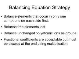 chapter 9 balancing equations part 2 2 balancing