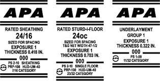 Underlayment Nailing Schedule Chart Underlayment Subfloor Apa The Engineered Wood Association