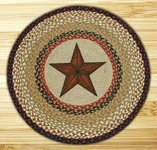 braided rug round star braided jute rug round braided denim rug diy