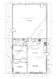 Small Picture Barndominium Floor Plans Pole Barn House Plans and Metal Barn