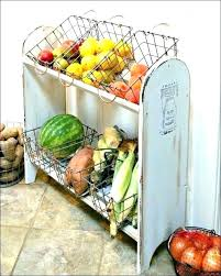 fruit storage stand veggie in small home my kitchen layout countertop vegetable