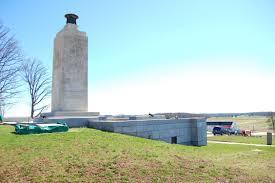 Eternal Light Peace Memorial Gettysburg Pa Eternal Light Peace Memorial Restoration Continues