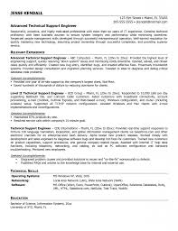 Agreeable Remote Support Engineer Sample Resume Wondrous Resume