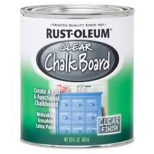 clear chalkboard paint case of 2
