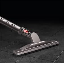 dyson articulating hard floor tool silver front standard