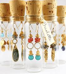 Showcase Jewelry in Glass Vials and Apothecary Jars