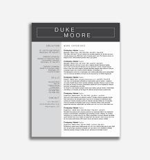 Business Resume Template Word Elegant Resume Template Download Free