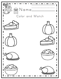 Thanksgiving Worksheets For Preschool Free Worksheets Library ...