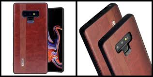 noziroh leather samsung galaxy note 9 cover case
