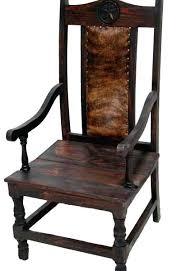 cowhide furniture chair texas star waco tx dark arm