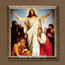 home decor christ painting save us art decor painting print giclee art print on canvas ready to frame26 in painting calligraphy from home