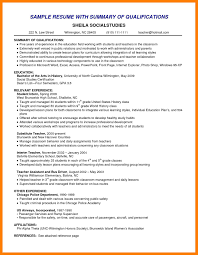 10 Example Resume Summary Mla Cover Page