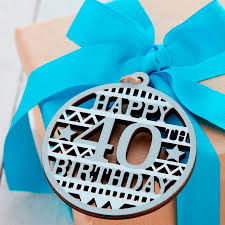 40th birthday gift
