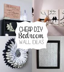classy diy bedroom wall ideas