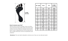 Shoe Size Chart Men India Naisha Casual Shoes For Women