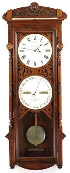 seth thomas office calendar no 11 circa oct 1884 antique clocks guy