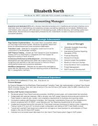 Account Manager Resume Sample Account Manager Resume Template Best Of Accounting Sample 100a 79