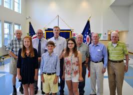 memorial day essay winners com the essay winners stand the kiwanis members who have served our country left to