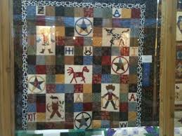MINI QUILT SHOW FROM HOUSTON LIVESTOCK SHOW | The Quilting Queen ... & You know I'm a sucker for a Texas theme. This quilt was just adorable. I  have some hand embroidered cowboy blocks that I think I might use this  layout with. Adamdwight.com
