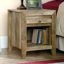 pass nightstand sauder craftsman oak storage cabinet