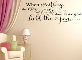 writing story of life wall art wall decal from vinyl decor on wall art writing decor with 14 writing decor for walls 25 best ideas about office wall decor on