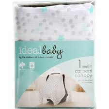 ideal baby by the makers of aden anais car seat canopy dreamy com