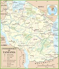 tanzania maps  maps of tanzania