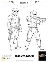 star wars stormtroopers coloring page