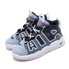 Details About Nike Air More Uptempo Td Denim Aegean Storm Blue Toddler Infant Shoes Ck0825 404